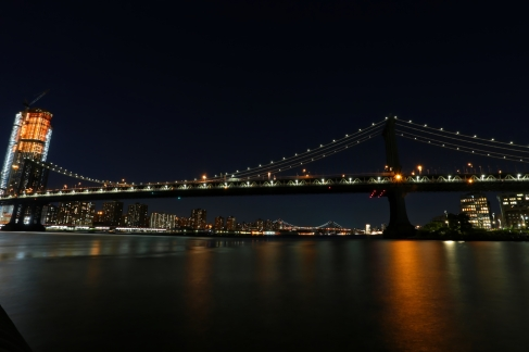 manhatten bridge noisless