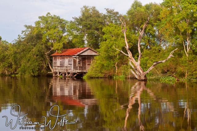 old bayou shack