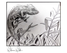 lizard print